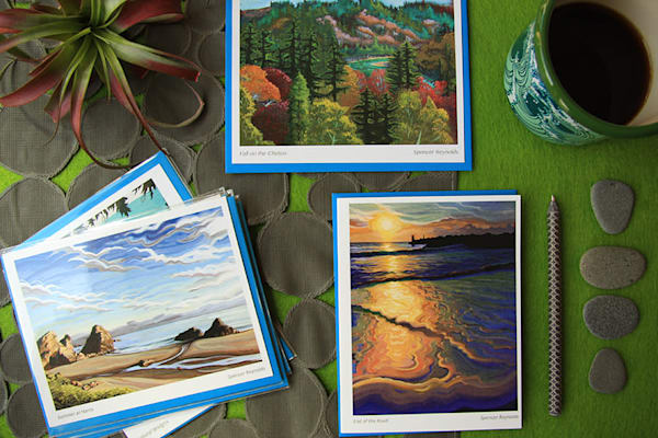 Spencer Reynolds Greeting Cards – Oregon Coast Scenes Pack 1