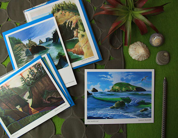 Spencer Reynolds Greeting Cards – Oregon Coast Scenes Pack 2