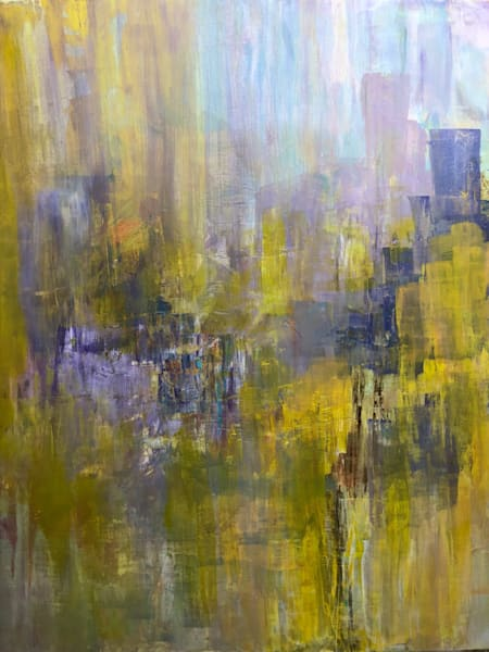Abstracted: Amethyst City Art | Studio Artistica