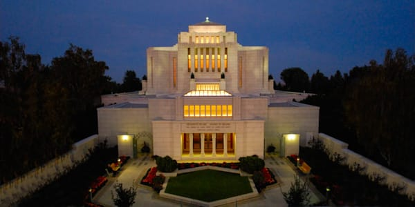 Cardston Temple - From the Front