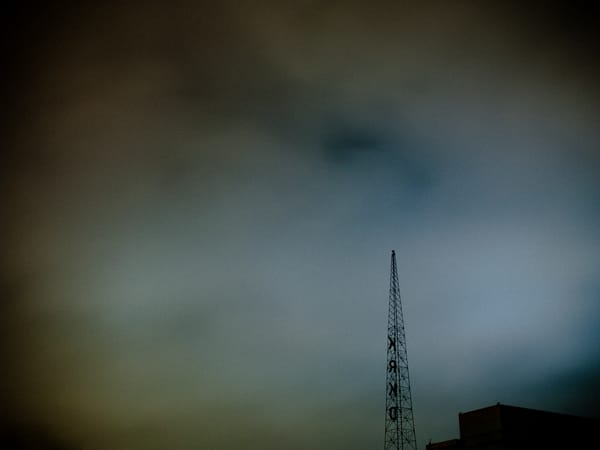 Looming - Cityscape Photograph
