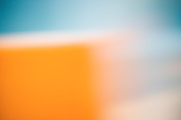 Orange 1 Abstract Photograph