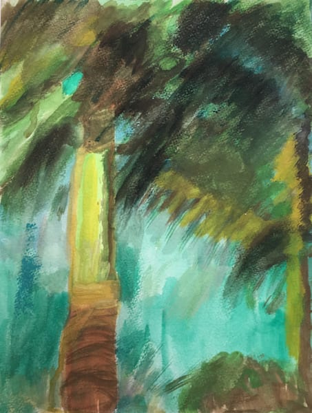 Palm original painting