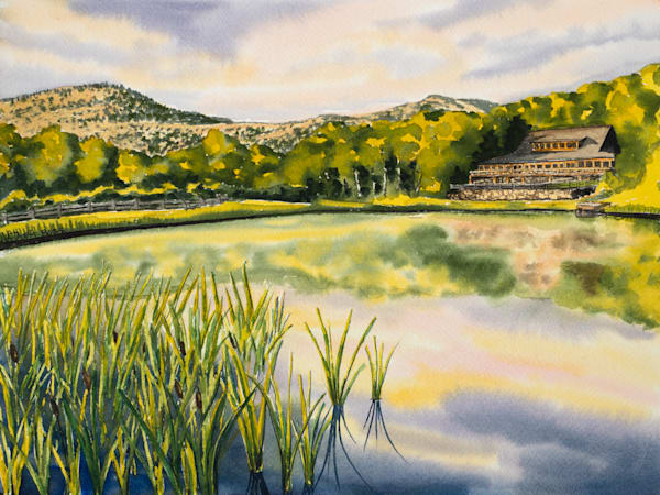 'The Ponds at Bolton Valley' Art for Sale.