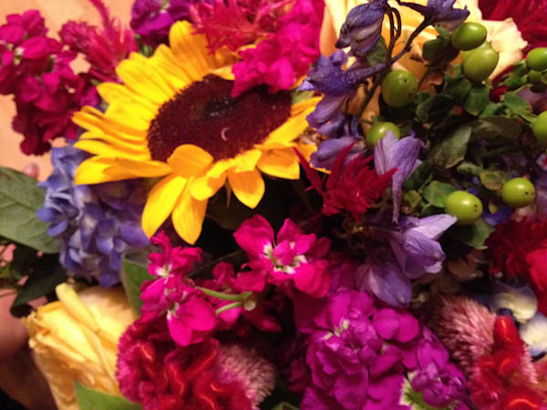 Wedding Flowers Pinks