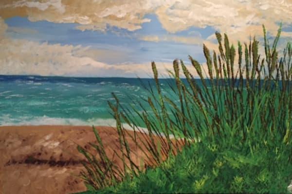 Beachy Grassy