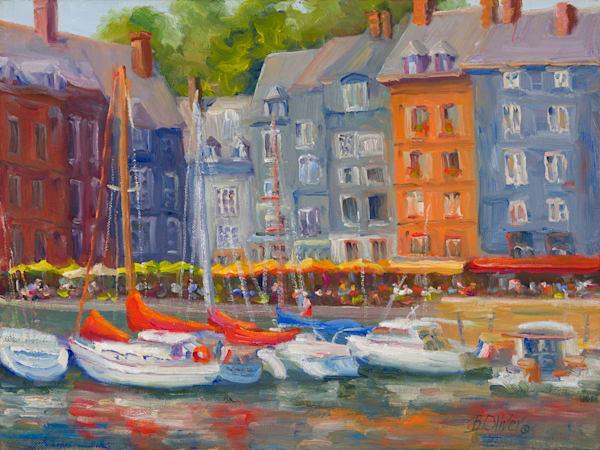 Honfleur Harbor  Art | B. Oliver, Art