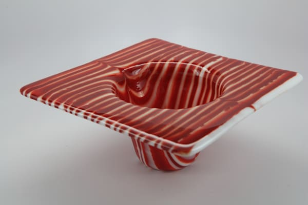0148 Candy Cane Vase Art | Midamericanartisans