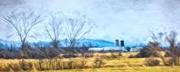 Vermont Farm Water Color Photography Art | Gary Tobler Fine Art