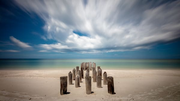 Beach Pilings - No.1
