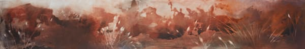 AMBER MISTS RISING - Original