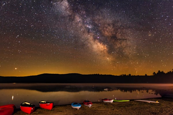 Limekiln Lake Milky Way Photography Art | Kurt Gardner Photogarphy Gallery
