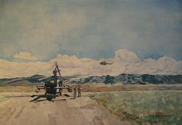 Check Out The Russian Helo Art | Michele Tabor Kimbrough