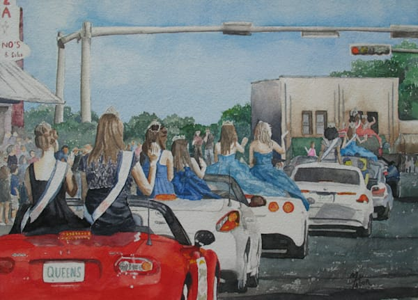 Parade Of Beauty Queens #1 Art | Michele Tabor Kimbrough