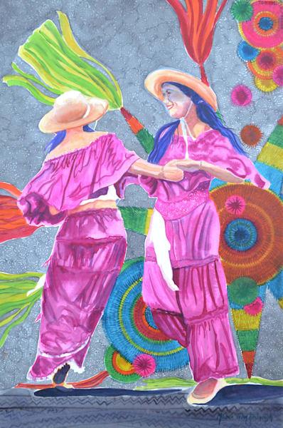 Baile Latino Art | Michele Tabor Kimbrough