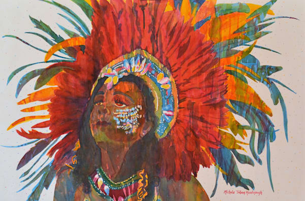 Queen Agnes   Crucian Carnival Series Art | Michele Tabor Kimbrough