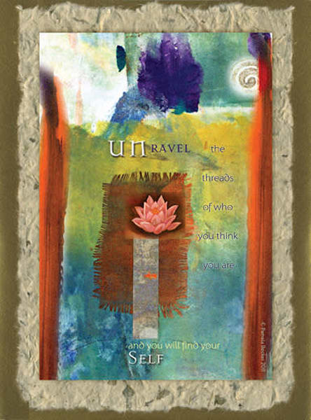 Cc10. Unravel Who You Are And You Will Find Your Self | Big Vision Art + Design