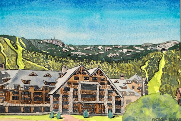 'Solstice' at Stowe Mountain Lodge Art for Sale