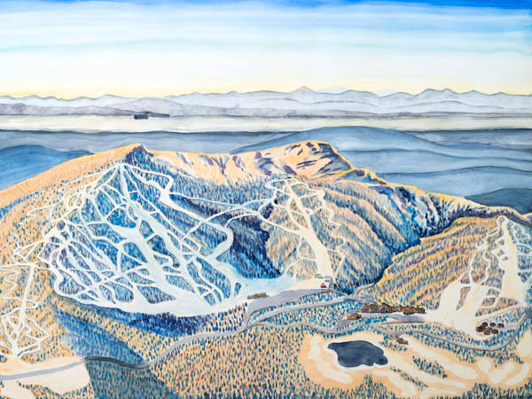 Stowe Mountain Art for Sale