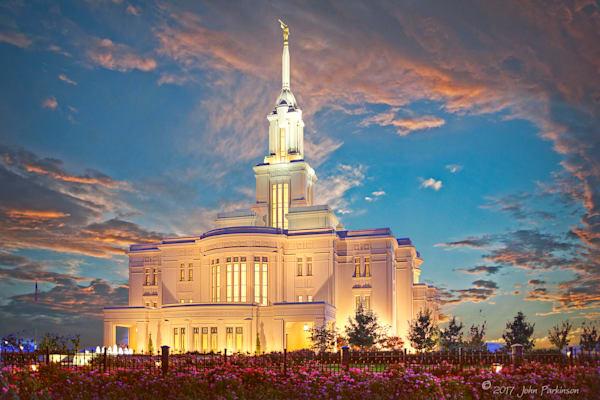 Payson Temple, Mormon