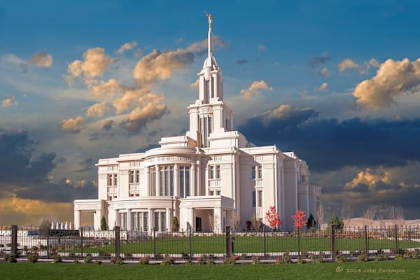 Payson Temple of the Church of Jesus Christ of Latter-day Saints in Payson, Utah