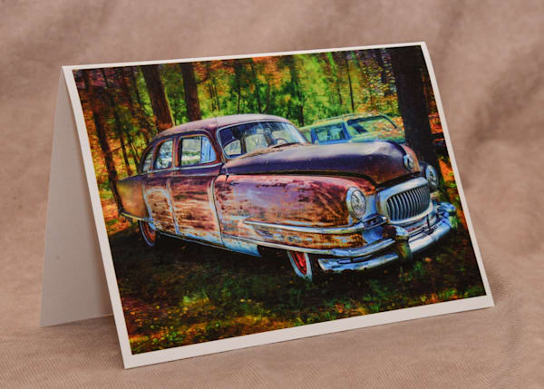 1951 Nash Greeting Card Art