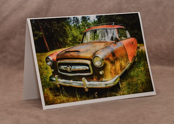 Nash Rambler Greeting Card Art