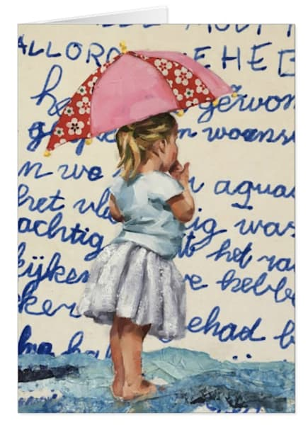 Greeting Cards of a Postcard Girl