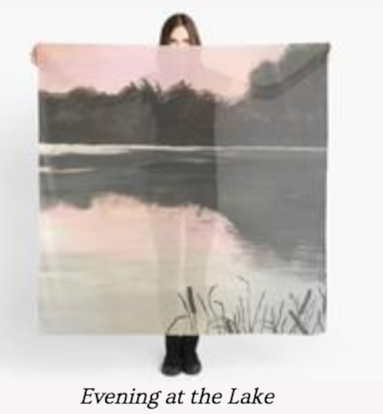 Evening At The Lake | Marci Brockmann Author, Artist, Podcaster & Educator
