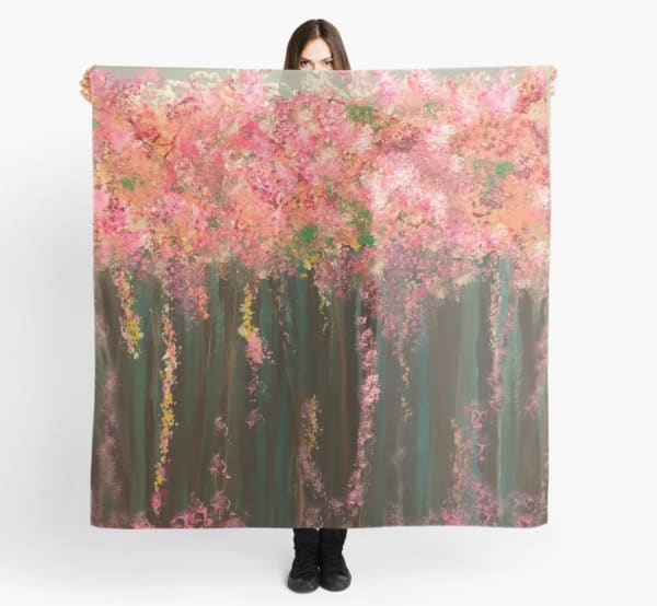 Pink Spring Blossoms | Marci Brockmann Author, Artist, Podcaster & Educator