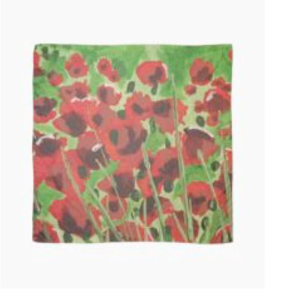 Poppies In A Field | Marci Brockmann Author, Artist, Podcaster & Educator