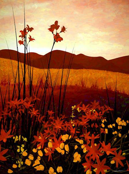 Field of Flowers | Cynthia Decker