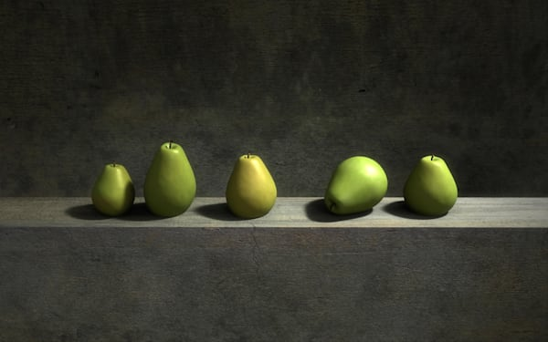 Five Pears | Cynthia Decker