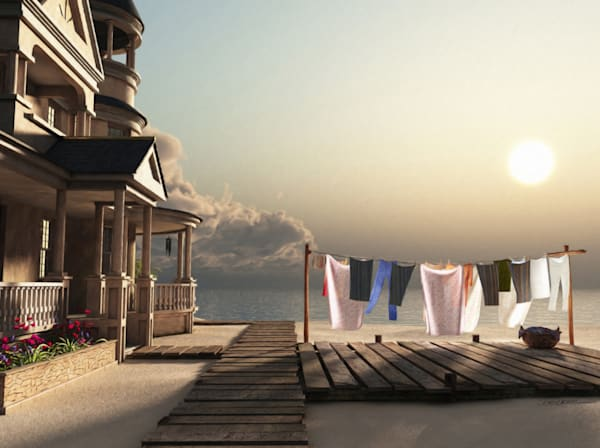 Laundry Day | Cynthia Decker