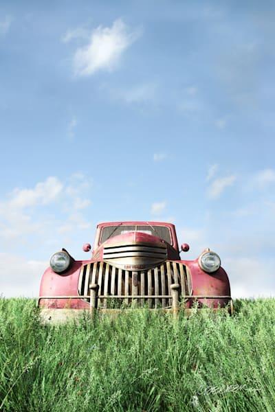 Red Truck | Cynthia Decker