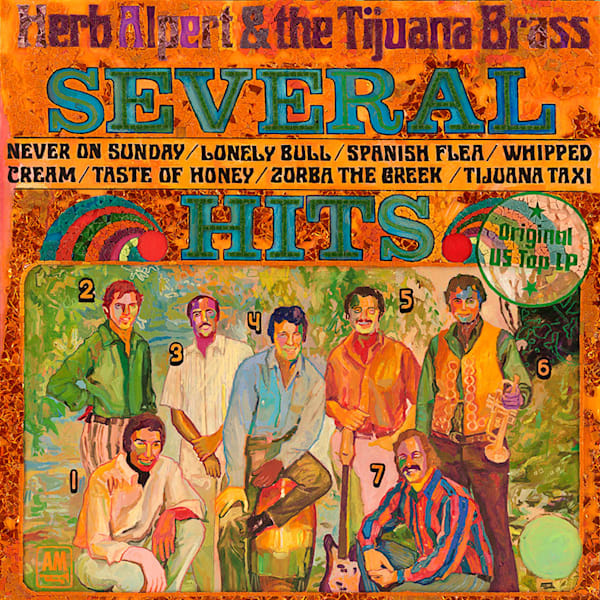 Several // Members of Herb Alpert & The Tijuana Brass fine art print by Caley Buck.