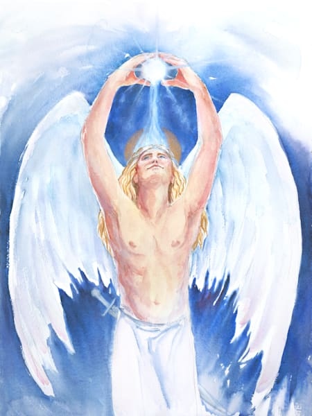 Archangel Michael Art | Bright Spirit Studio