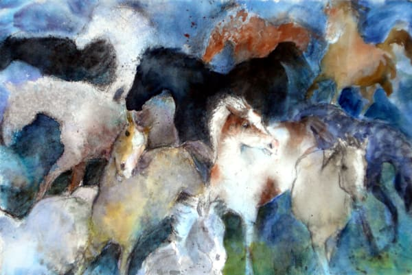 Dream Of Wild Horses Art | Bright Spirit Studio