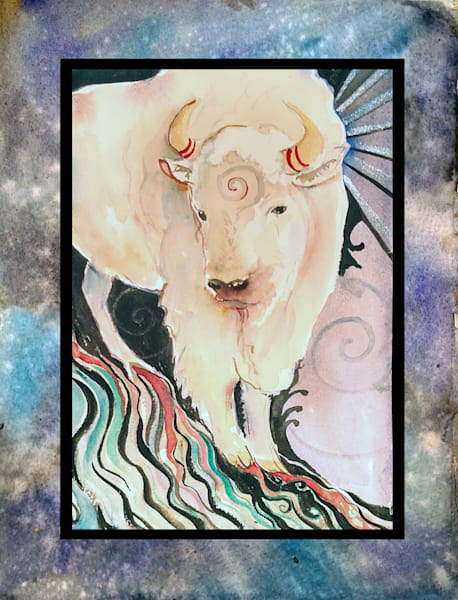 Spirit Buffalo  Art | Bright Spirit Studio