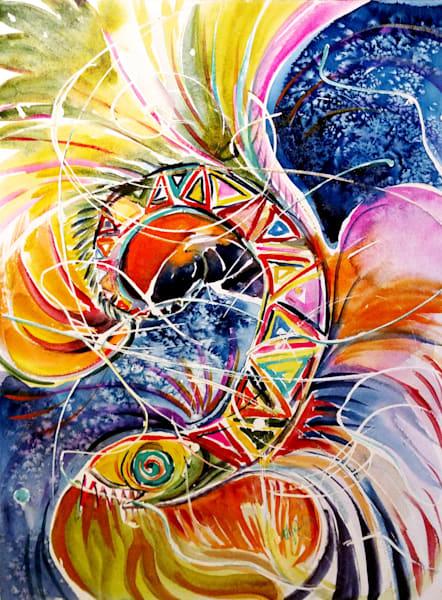 Fabric Of Reality (Kundalini) Art | Bright Spirit Studio