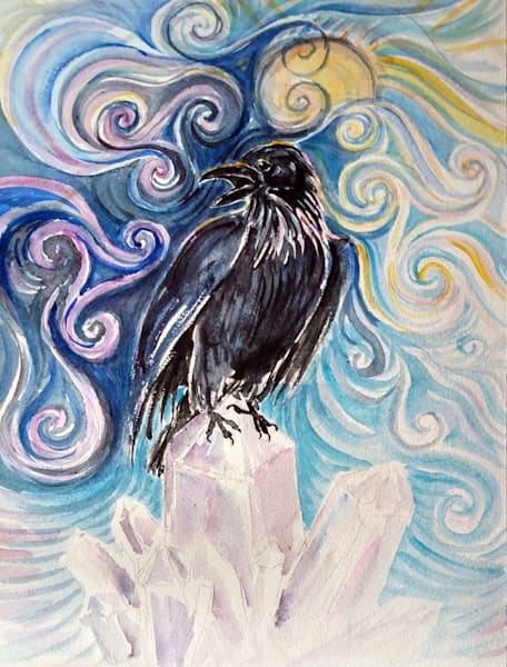 Raven Magic Art | Bright Spirit Studio