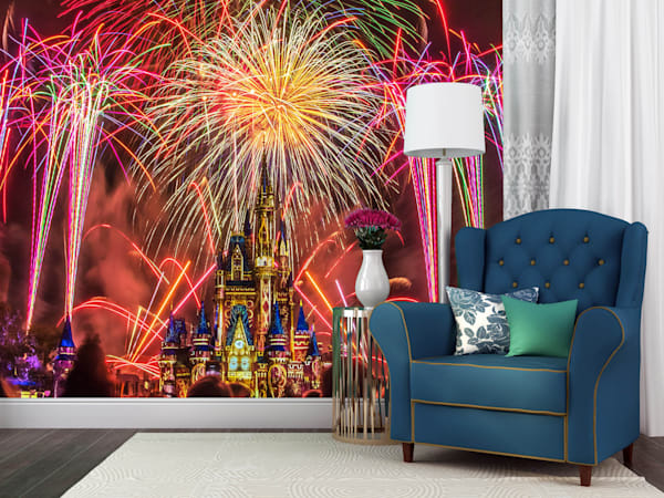 Happily Ever After Finale 1 - Disney Wall Murals | William Drew