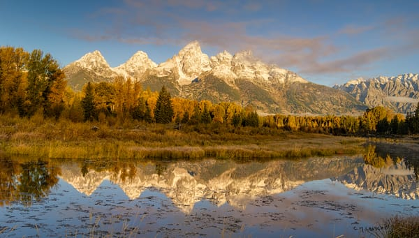 First Snow - Tetons (1776)