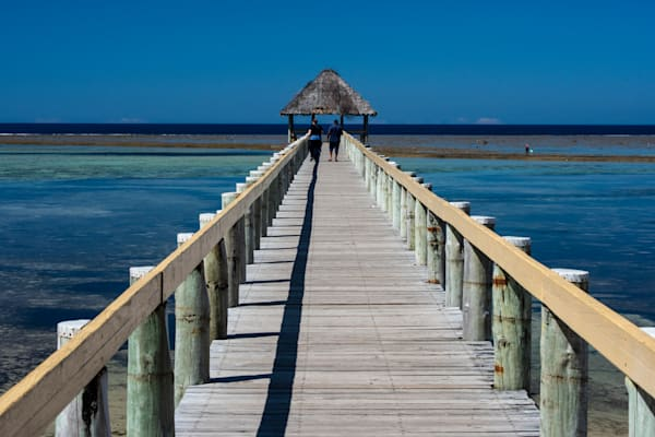 A Pier in Fiji is available as a fine art photograph for sale