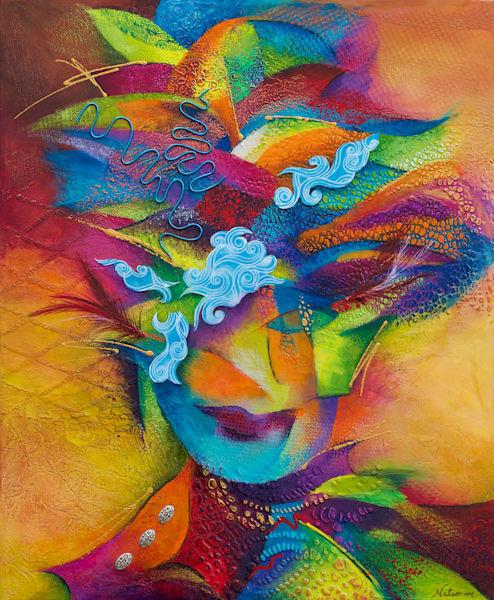 Blazing Lola (Original) Art | Nathalie Marino