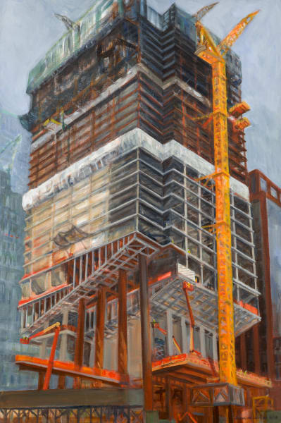 Print of One Vanderbilt from 42nd Street, August 2018
