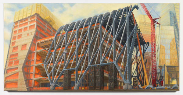 "The Shed Rising, April 2017, 24"" x 48"""