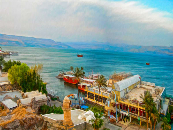 Sea of Galilee - The Gallery Wrap Store