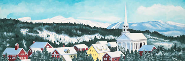 Stowe Village Art for Sale