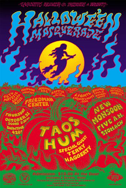 Taos Hum Halloween Poster